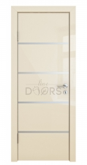 ШИ дверь DG-605 Ваниль глянец