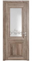 Дверь межкомнатная DO-PG2 Орех седой светлый/Ромб